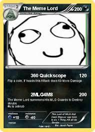 Quickscope Meme - pokémon the meme lord 360 quickscope my pokemon card
