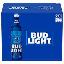 bud light can oz bud light beer 20 pack 16 fl oz walmart com