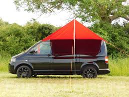 Vw T5 Awnings Vw T4 T5 T6 Sun Canopy Awning Chianti Red