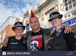 blackpool lancashire uk 7th aug 2015 policing the punk
