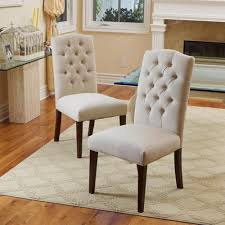Burlap Dining Chairs Stunning Upholstered Parsons Dining Room Chairs Pictures Home