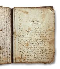 cahier cuisine manuscrit recettes de cuisine et autres cahier in 4 composé de quatre