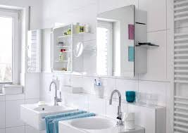 Bathroom Modern Lighted Bathroom Mirror Cabinet With Standalone - Bathroom sink mirror