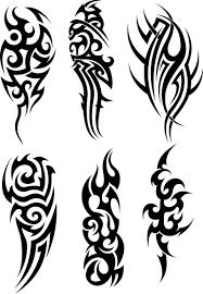 awesome black tribal tattoos designs