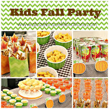kids fall party u2013 a to zebra celebrations