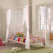 Diy Canopy Bed Diy Canopy Bed With Curtain Rods Pictures Surripui Net