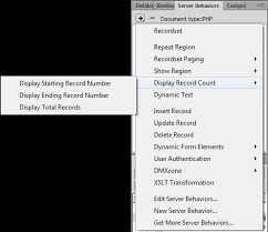 Count Pages Php Manually Updated Replacing Dreamweaver Server Behaviors With Dmxzone