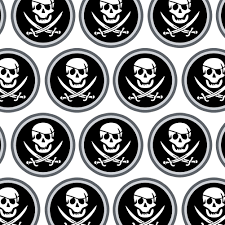 skull wrapping paper premium gift wrap wrapping paper roll pirate skull crossbones ebay