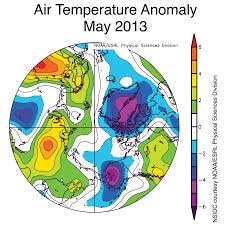 Alaska Temperature Map by June 2013 Arctic Sea Ice News And Analysis