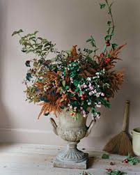Floral Vases And Containers Fall Flower Arrangements Martha Stewart