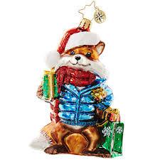 christopher radko ornament 2016 radko gifts on the sly fox