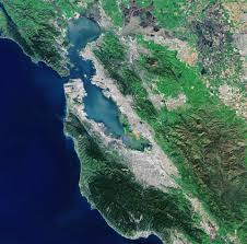 san francisco delta map landsat 8 captures san francisco bay area