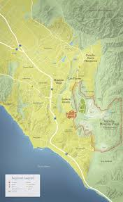 Continental Divide Map Maps Rancho Mission Viejo