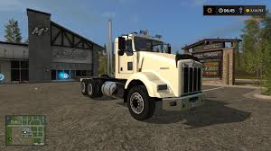 kenworth 2017 kst kenworth t800 dual axle for that one guy v1 0 fs17 farming