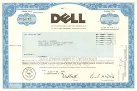 dude you u0027re getting a dell stock certificate collectible michael