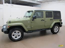 commando green jeep commando green 2013 jeep wrangler unlimited sahara 4x4 exterior