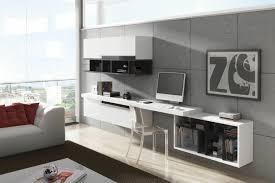 amenagement bureau domicile aménagement de bureau moderne dans un salon design