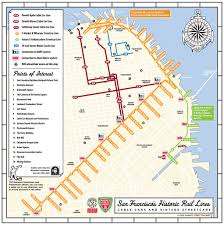 New Orleans Street Car Map by San Francisco Cable Car Railfan Guide