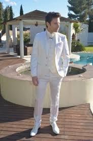costume mariage blanc costume de marié homme blanc lagerfeld sur marseille costume de