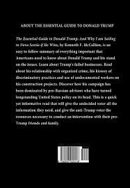 the essential guide to donald trump and why i am sailing to nova