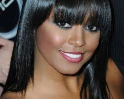 hairstyles with bangs for black women 2017