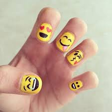 wear your emotions on your hands with emoji nail art emoji nails