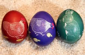 decorative easter eggs for sale sorbians prepare easter eggs gagdaily news