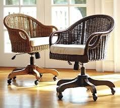 pottery barn desk chair rattan desk chair rattan swivel desk chair from pottery barn this