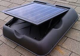 solar powered roof vent fan flat roof pictures