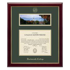 frame for diploma museum quality matted diploma frame dartmouth diploma frame