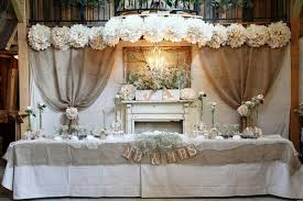 wedding backdrop burlap burlap drapes and table i do weddings by sheri