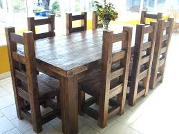 Square Wood Dining Tables Rustic Square Dining Table Moutard Co