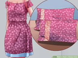 simple dresses how to make a simple dress with pictures wikihow