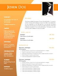 top word document resume templates free download resume template