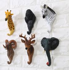 online buy wholesale animal head wall hanging coat hook from china