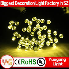 Outdoor Christmas Decorations Solar by Outdoor Use Christmas Decorations Solar String Light Solar Panel