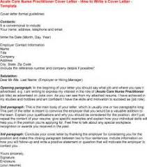 Nurse Practitioner Resume Example by Free Nurse Practitioner Cover Letter Sample Free Nurse