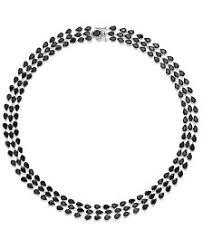 black sapphire necklace images Black sapphire necklaces macy 39 s 5,0&a