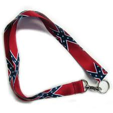 Civil War Rebel Flag Confederate Lanyard Civil War Stuff Online Store