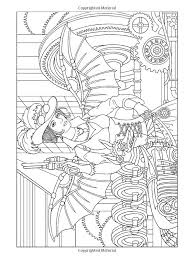 131 best steampunk coloring pages images on pinterest drawings