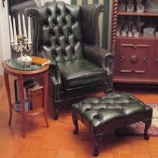 Queen Anne Wingback Chair Leather Alec U0027s Chesterfield Churchill High Back Wing Chair Uk Manufactured