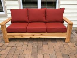 ana white cedar outdoor sofa diy projects