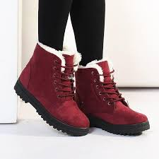 womens boots for flat autumn and winter boots flat martin boots