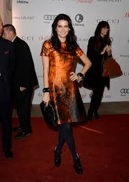Red Carpet Entertainment Angie Harmon On Red Carpet Thr U0027s 22nd Women In Entertainment