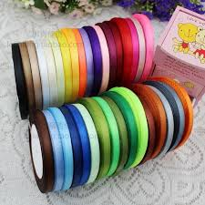 hot wholesale 6mm 1 4 wide 10color mixed 220meter per lot soild