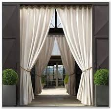 White Outdoor Curtain Panels Outdoor Curtain Panels With Thin White Curtains And Outdoor