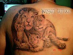 image result for tattoo designs for lion and lioness tattoo