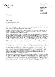 open letter and university responses