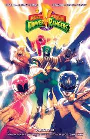 mighty morphin power rangers book series kyle higgins