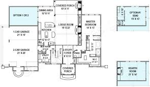 laurelwood cottage cottage floor plans rustic floor plans